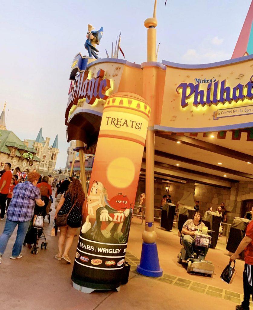 Notsoscarybanner2 837x1024 - Mickey's Not So Scary Halloween Party at Disney