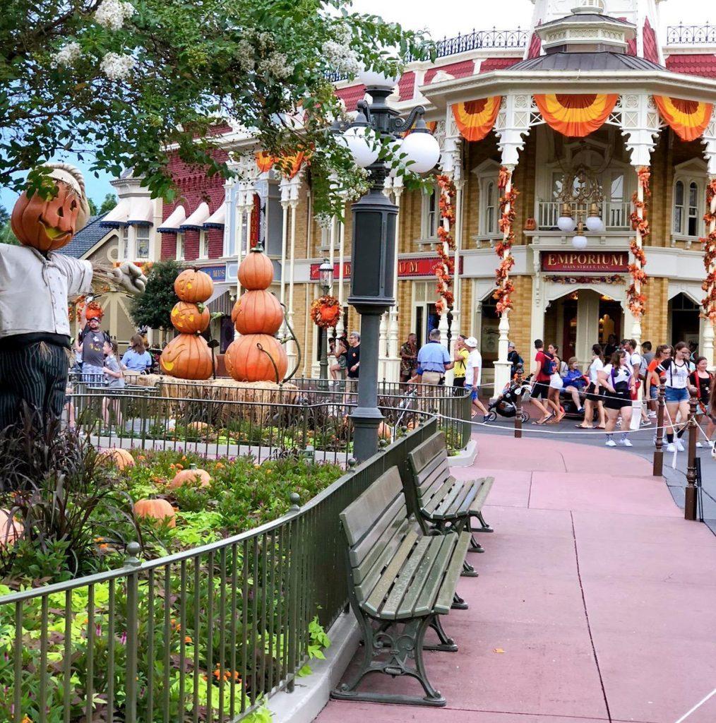 Notsoscarymainstreet 1014x1024 - Mickey's Not So Scary Halloween Party at Disney