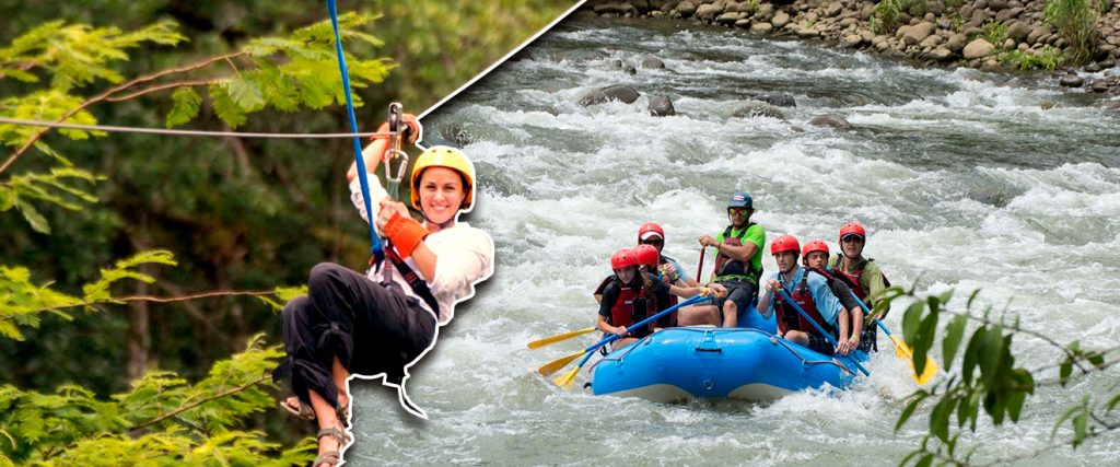 Canopy Rafting in Costa Rica