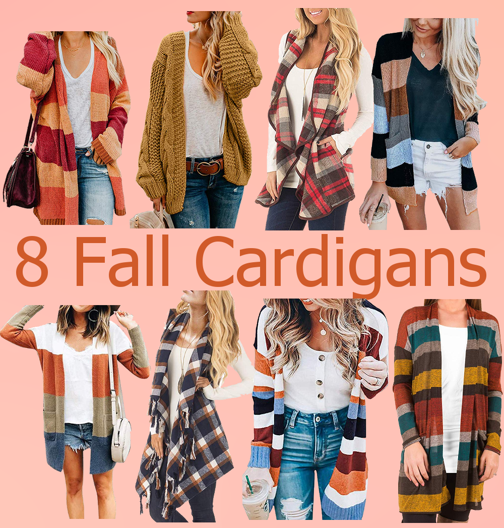 8 Fashionable Fall Cardigans