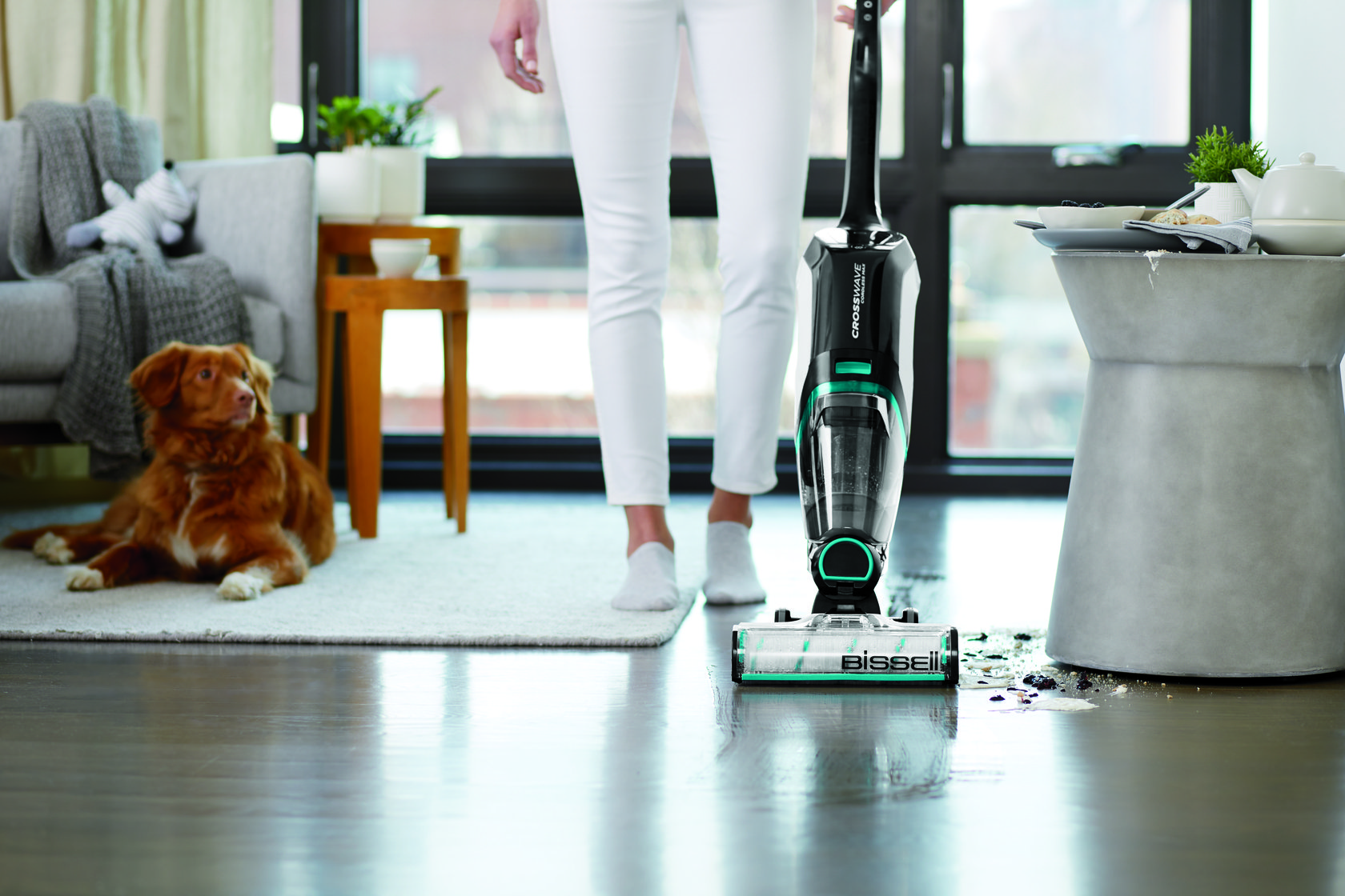 BissellVacuumpets - BISSELL CrossWave Cordless Max - Multi-Surface Vacuum Cleaner