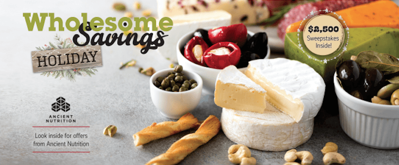 Wholesome Savings Nov 2 - Savings and Coupons for Whole Foods + $2500 Giveaway!