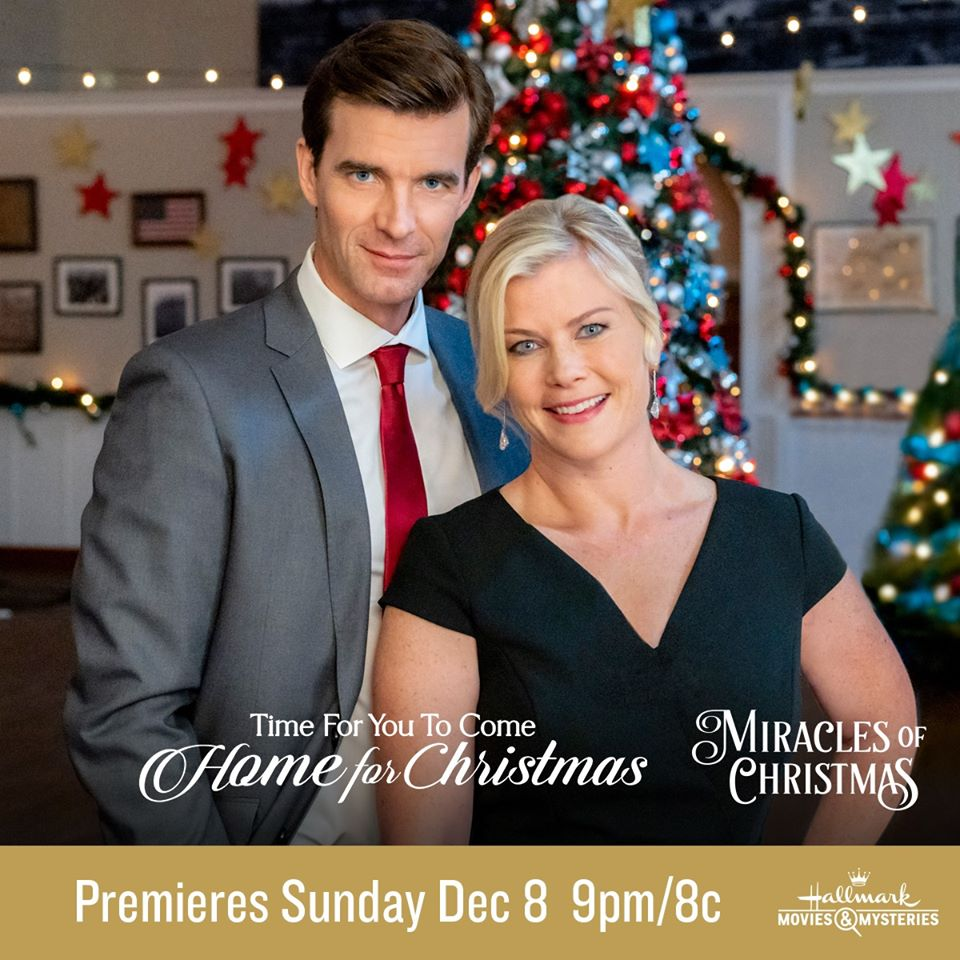 "HomeForChristmas 1 - Hallmark Movies & Mysteries Premiere of ""Time for You to Come Home for Christmas"" December 8th - 9pm/8c"