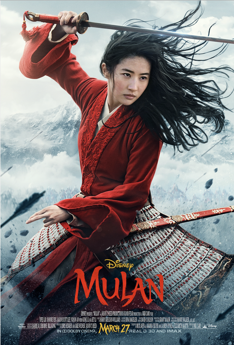 Disney's Mulan New Trailer & Poster