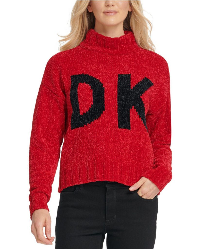 DK red sweater