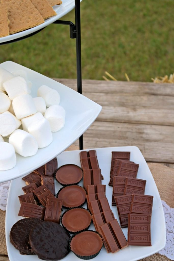 Gourmet S'mores Buffet and Milk Chocolate