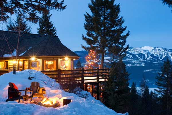 Evergreen Lodge family christmas vacations