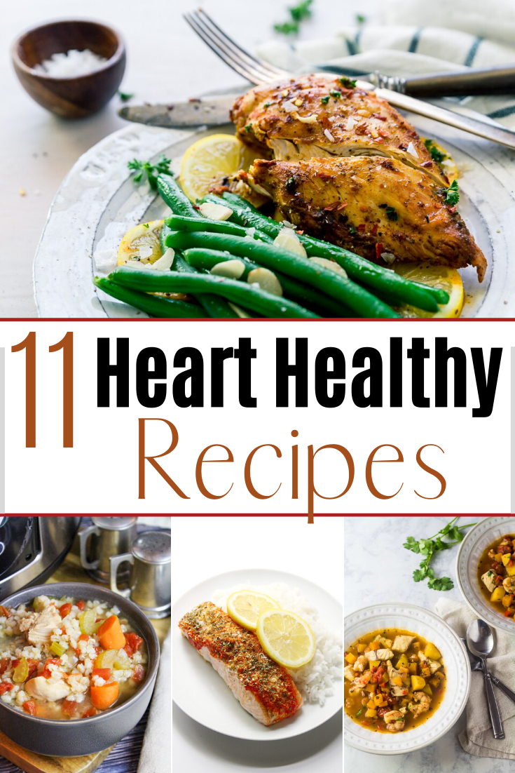 Heart Healthy Recipes - 10 Heart-Healthy Easy Recipes - Dinner in 30 Minutes!