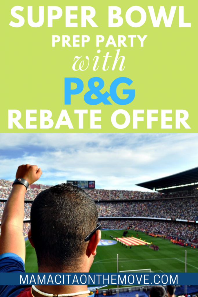 PGRebateOffer 1 683x1024 - Super Bowl Party Prep with New P&G Rebate Offer