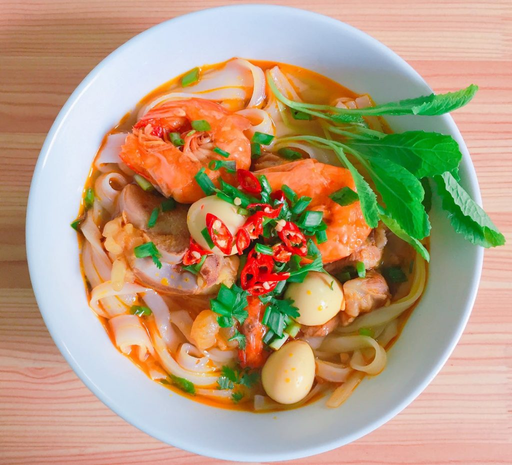 prawn Healthy Noodle Meal