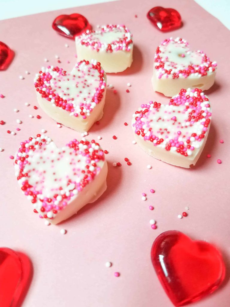 Sugared hearts