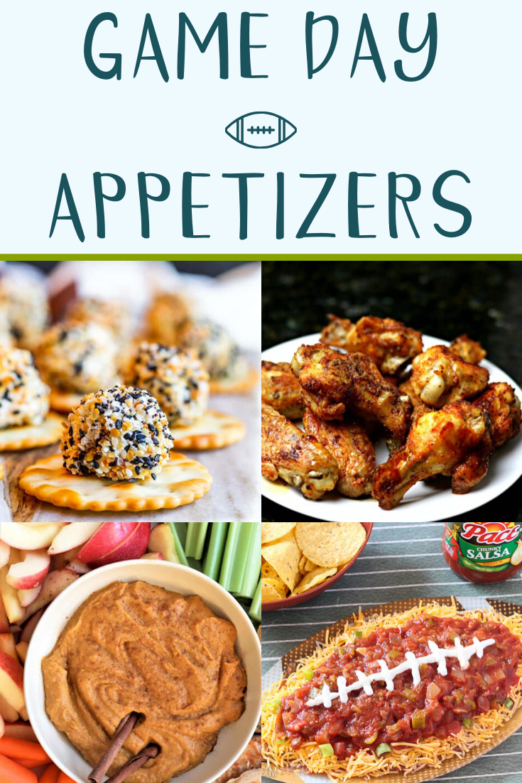 game day appetizers - 12 Quick Game Day Appetizers - Touchdown!