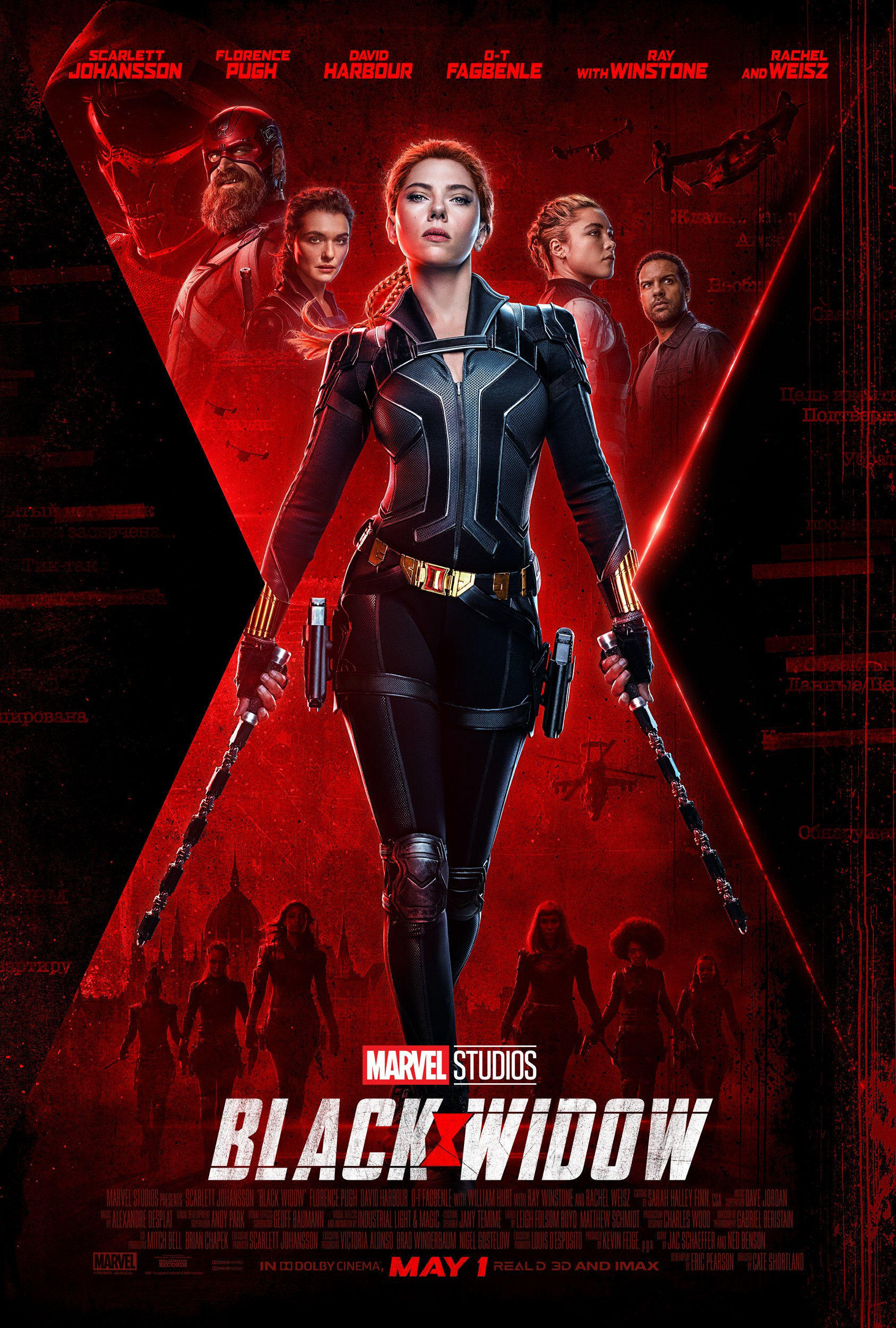 Marvel Studios Black Widow New Trailer Released