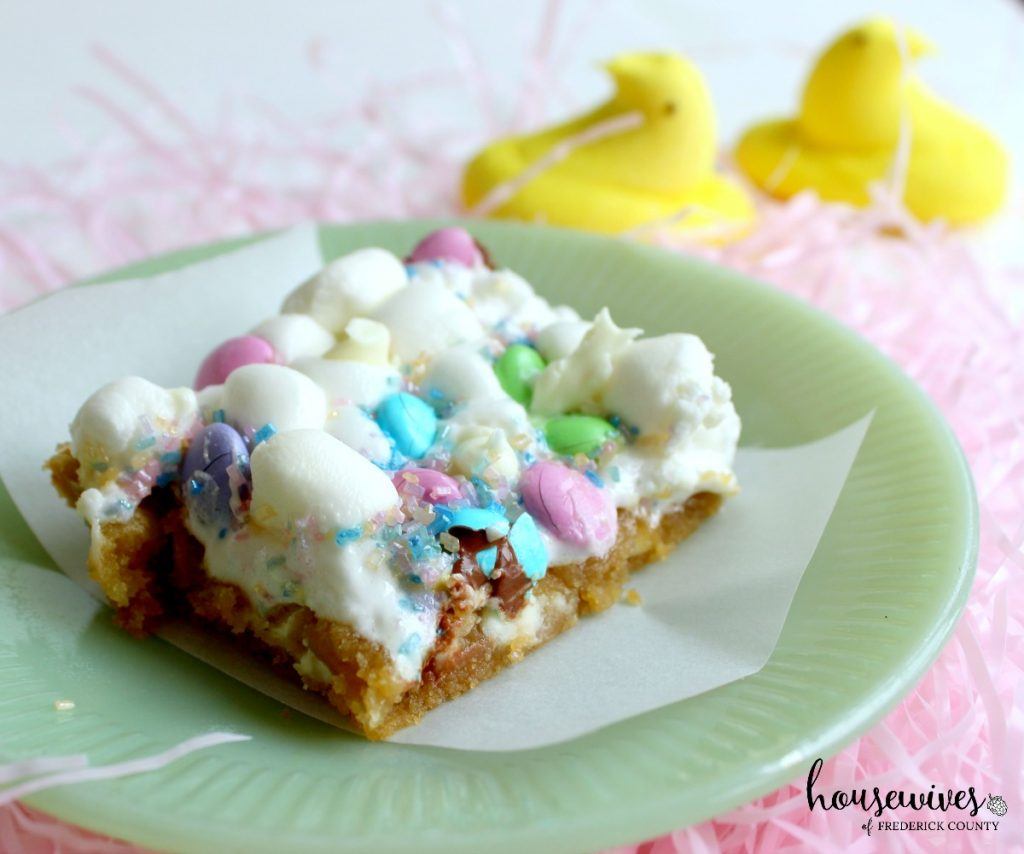 Spring Sugar Cookie Bars 1024x854 - 10 Cute Easter Dessert Ideas