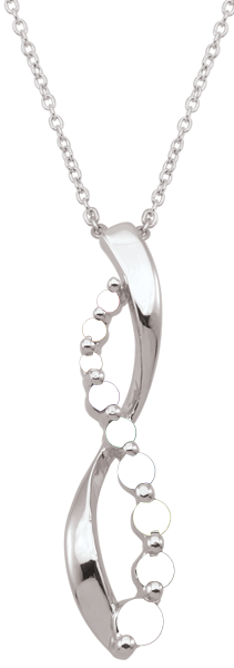 Mothers Birthstone Infinity Pendant - Mothers Day Guide - Great Gift Ideas for Her