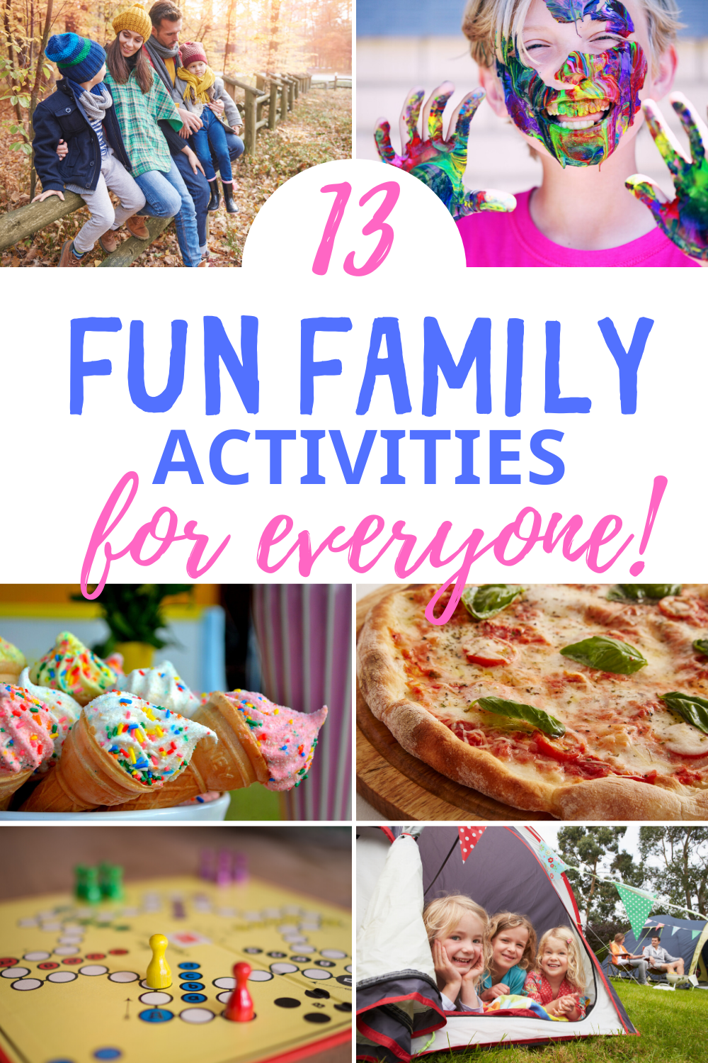 FamilyActivitiesForEveryone - 13 Fun Family Activities at Home For Everyone