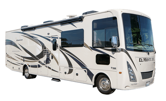 El Monte Motorhome rent an RV for the weekend