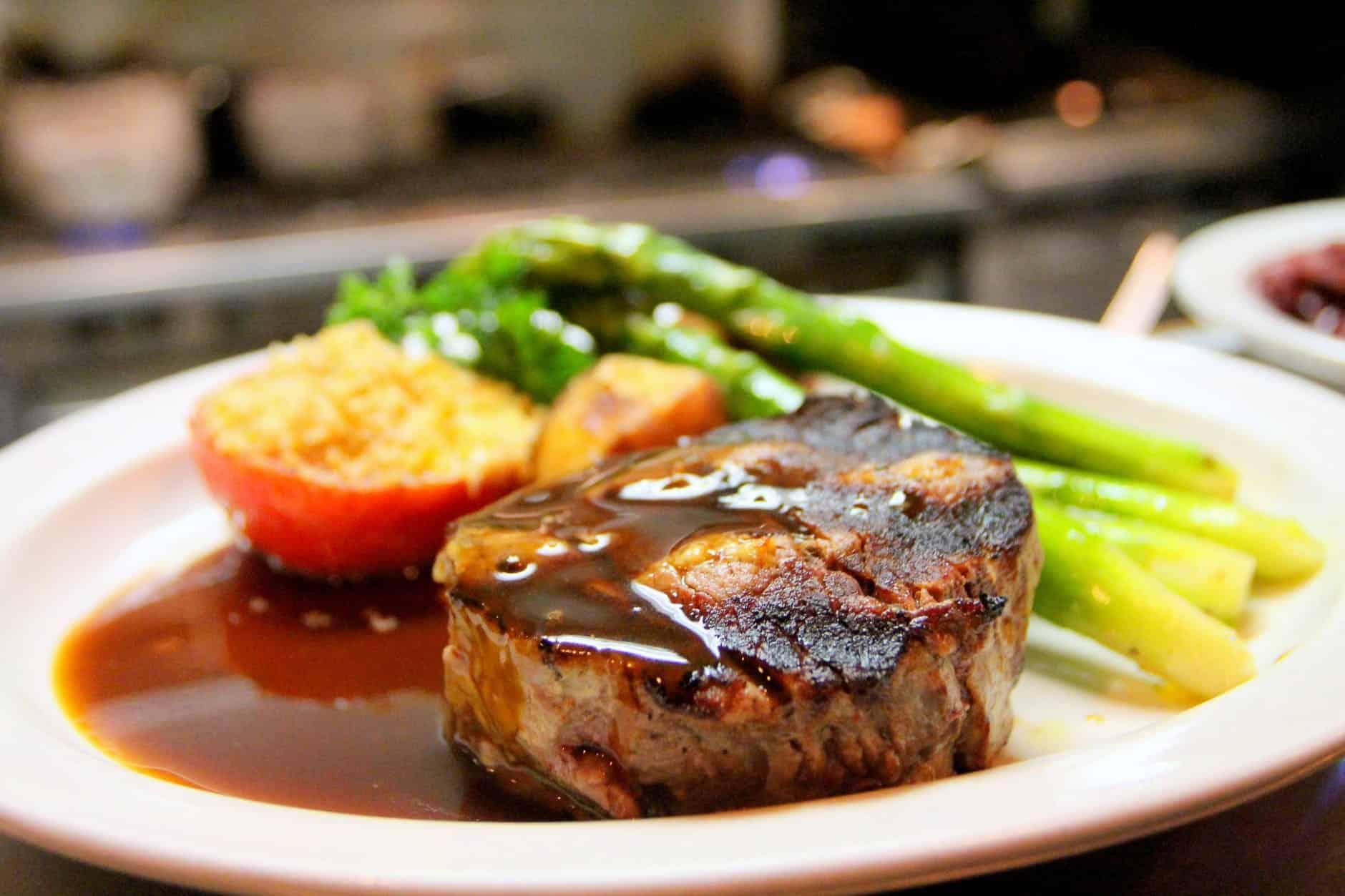 steak and vegetables keto travel hacks
