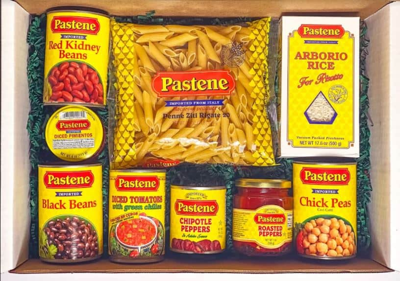 Pastene Products makes the Perfect meal