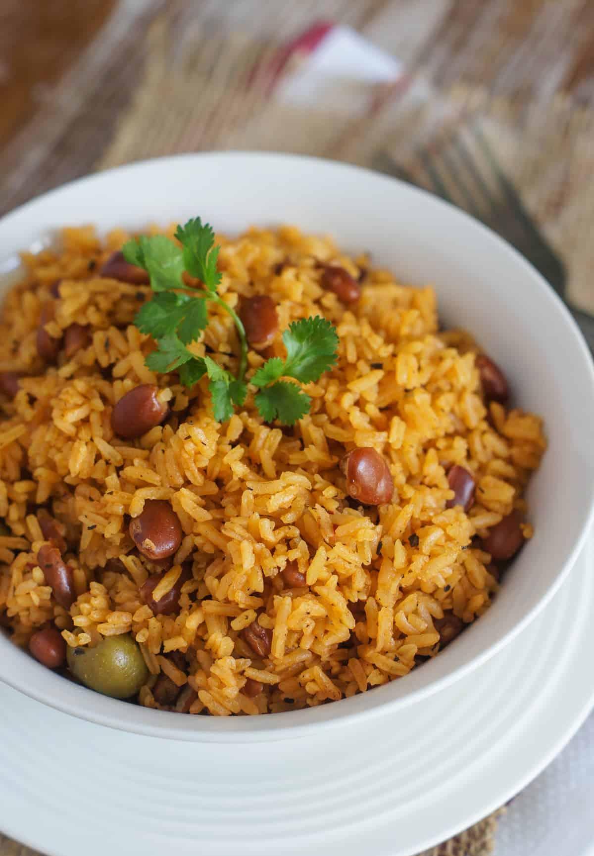 Moro de Habichuelas hispanic heritage month makes perfect meal
