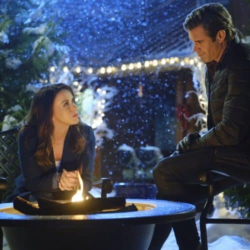 "Hallmark Movies and Mysteries Movie Premiere of ""Time for Us to Come Home for Christmas"""