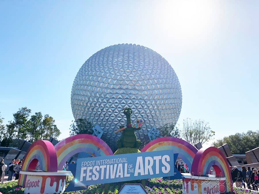 Epcot Disney World 2021
