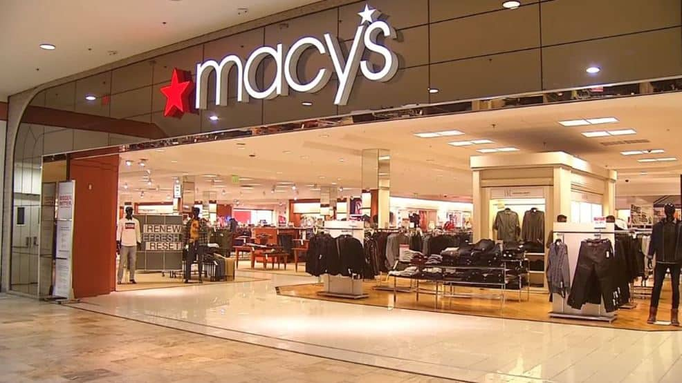 End of the Season Sale at Macy's